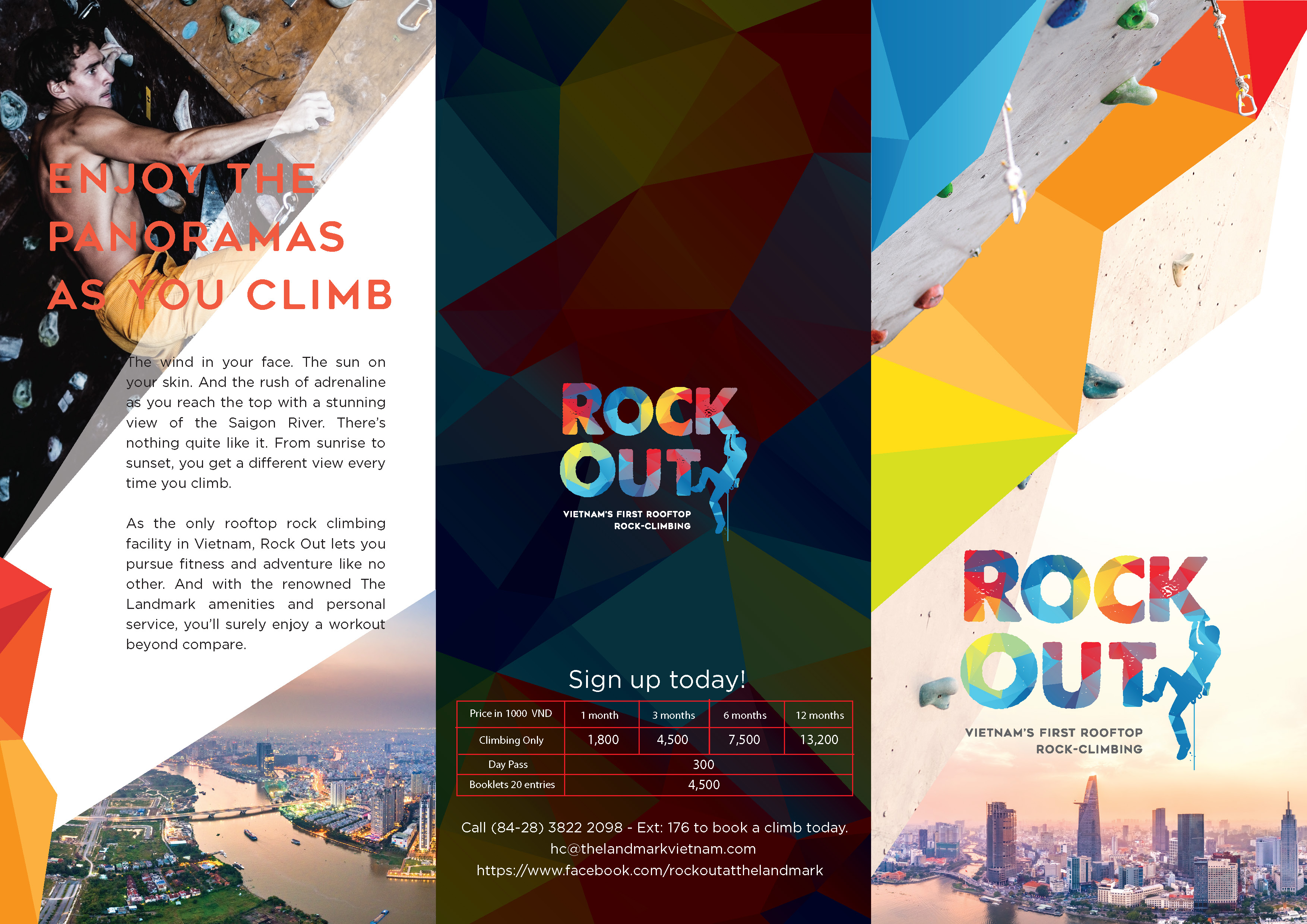 ROCK OUT - Brochure 1